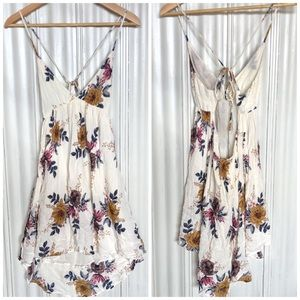 Summer Floral Strappy Dress